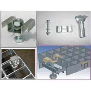 Galvanized Steel Grid Mounting Clip