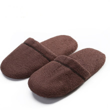 Coral velour soft sole cute indoor slippers