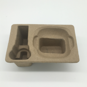 wholesale custom molded pulp packaging tray box