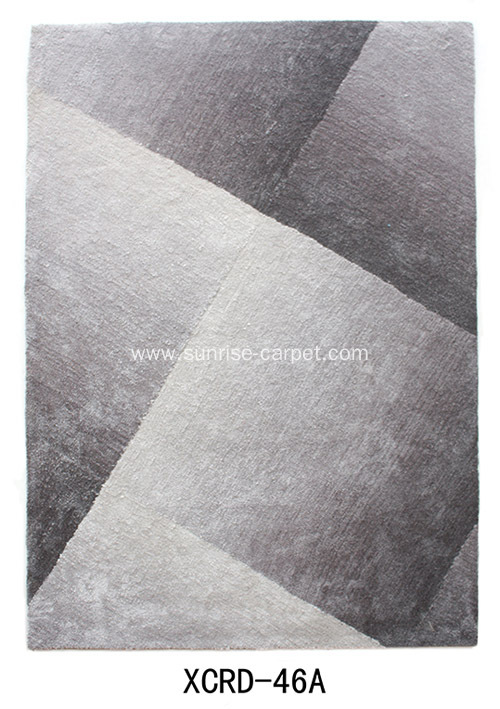 Microfiber Carpet with Design and Shading Color