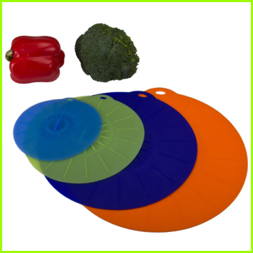 Hot Sale for for China Silicone Suction Lid Set,Microwave Lids Manufacturers and Suppliers in China As Seen On TV Silicone Fresh Bowl Cover export to St. Helena Factory