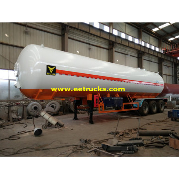 50000L 25ton NH3 Transport Tanker Trailers