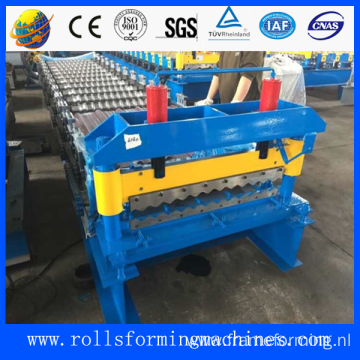 IBR metal roof sheet machine