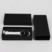 Black custom watch storage box