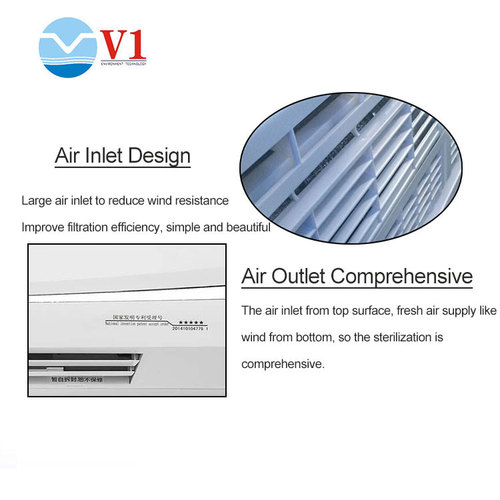 Air uv cleaner filter ionization air purifier