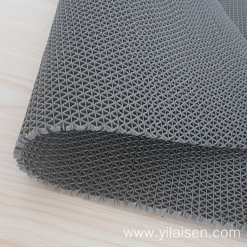 PVC S type mat rolls for kitchen use