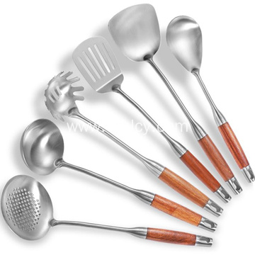 Stainless Steel Spatula Cooking Kitchenware Set Wholesale
