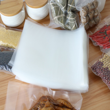 Embossed Vacuum plastic food bag packaging