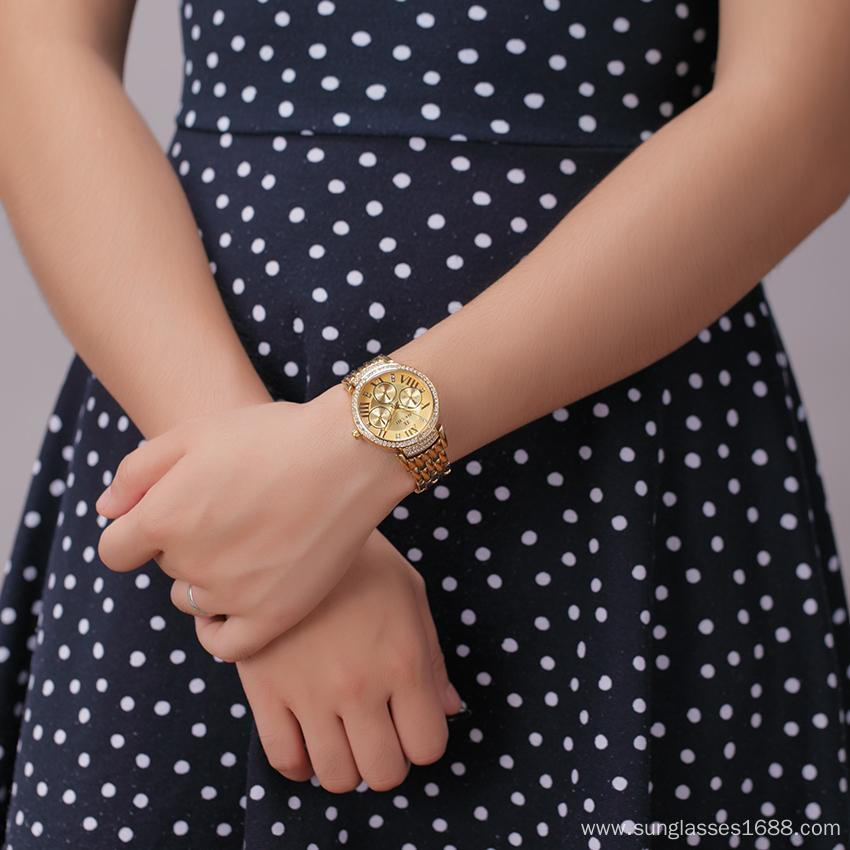 Alloy Series Fashion Watch Casual Quartz Watch