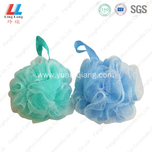 elegant body Mesh Loofah Bath Sponge shower