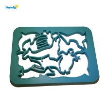 Best Quality for Gingerbread Man Cookie Cutter One Press Plastic Sea Animals Cookie Cutter export to India Manufacturers