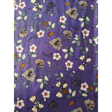Flower Design Rayon Lightweight Challis 30S Printing Fabric