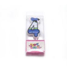 Cute animal party birthday number candle