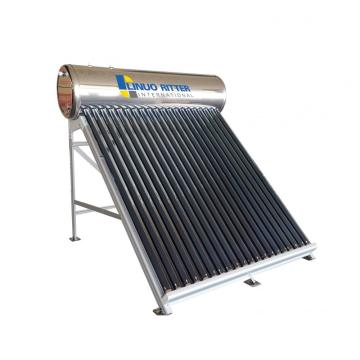 Solar water heater 200L stainless steel water tank