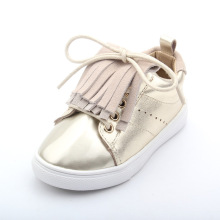 New Design Genuine Leather Baby Sports Shoes