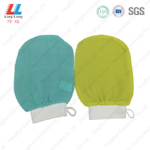 swanky exfoliating pad gloves bathing