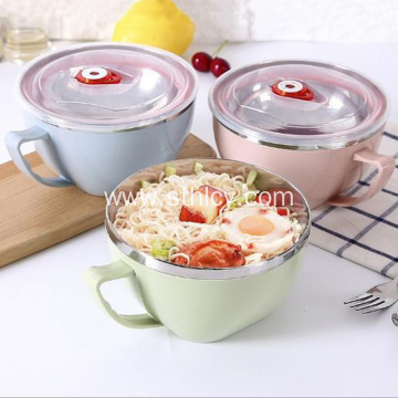 Stainless Steel Instant Noodle Bowl