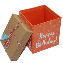 Empty Big Happy Birthday Present Gift Boxes