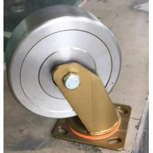 Heavy duty forged steel swivel caster wheel(golden)