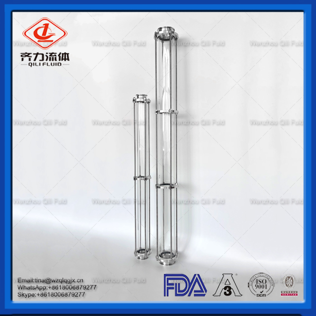 Sanitary Long Size Steel Sight Glass