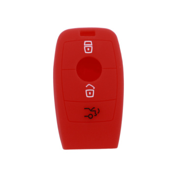 Best Quality for Offer Mercedes Benz Silicone Key Cover, Benz Silicone Key Fob Cover, Mercedes Benz Silicone Key Case from China Supplier Benz 3 buttons car remote key protector export to Italy Exporter