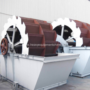 Mobile Mini Screw Sand Washing Machine