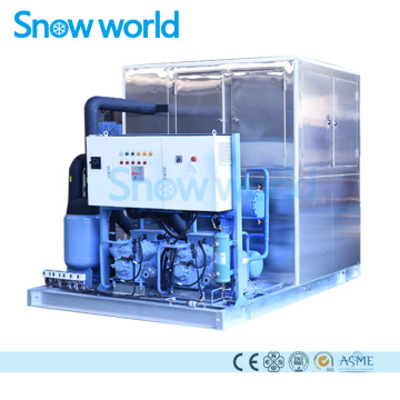 Snow world 10T Single Plate Ice Plate Machine
