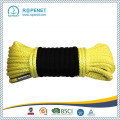 UHMWPE Synthetic Winch Rope with a Hook and Sleeve
