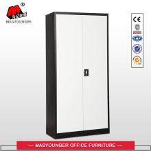 Black White Metal Office Storage Cupboard