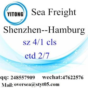 Shenzhen Port LCL Consolidation to Hamburg