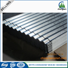 galvalume Galvanized corrugated steel roofing sheets