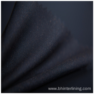 Polyester woven fabric elastic fusing interlining