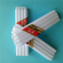 Decoration Cellophane Classic Ivory Candles