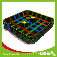 Commercial equipment trampoline park