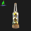 Christmas Glass Bottle With Led Light
