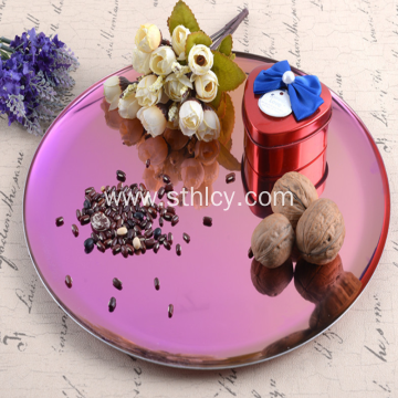 Color metal tray Home decoration