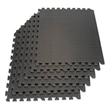 High flexibility Fitness Interlock Gym Rubber Floor Tiles
