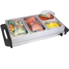 Electric buffet warmer