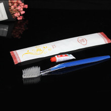 Disposable hotel toothbrush Custom printing LOGO