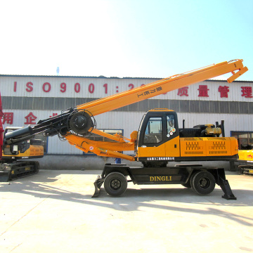 Small Wheel Type Portable Boring Rig Machine