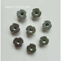 Zinc plated Full thread Three thorn insert nuts