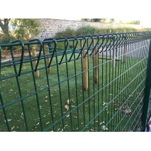 rolled top brc welded mesh fences