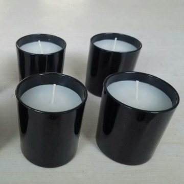 Natural fragrance oil paraffin wax color jar candles