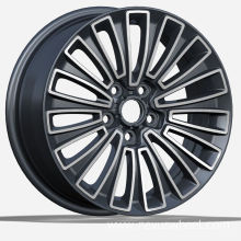 Black Machined FaceKIA Replica Wheels