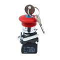 XB4-BS142 Emergency Pushbutton Switch with Key