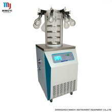 China for Laboratory Vertical Type Freeze Dryer Benchtop small manifold freeze dryer export to United States Factory
