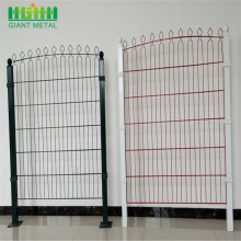 Heibei Giant Welded PVC Coated Prestige Fence