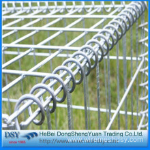 Garden stone wall welded wire mesh gabion box