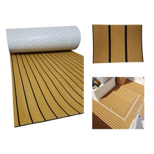 Melors Adhesive Flooring Boat Decking Faux Teak Sheet