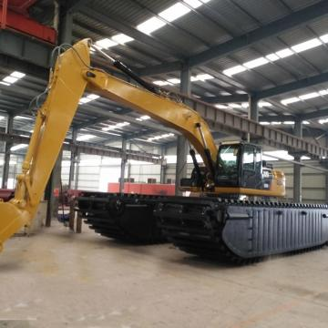 Energy saving and fuel saving Amphibious Excavator